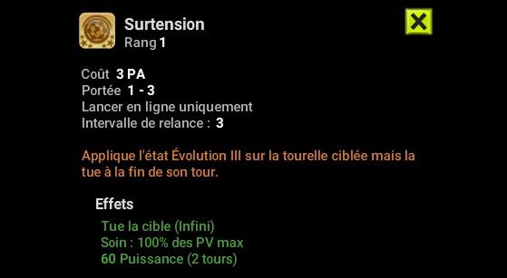 Surtension - Dofus