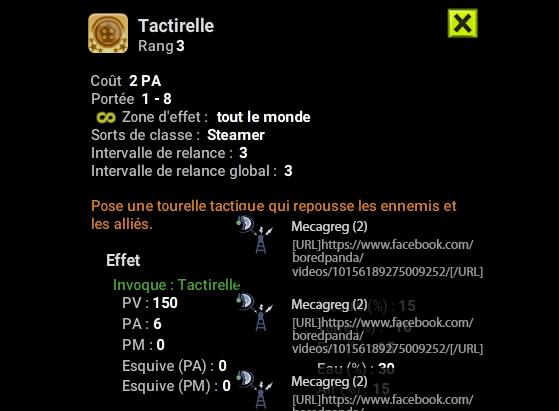 Tactirelle - Dofus
