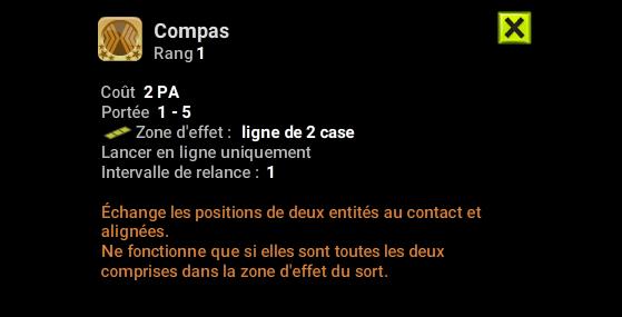 Compas - Dofus