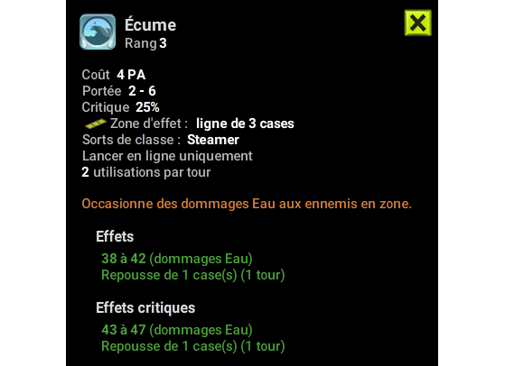 Ecume - Dofus