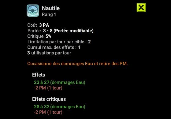 Nautile - Dofus