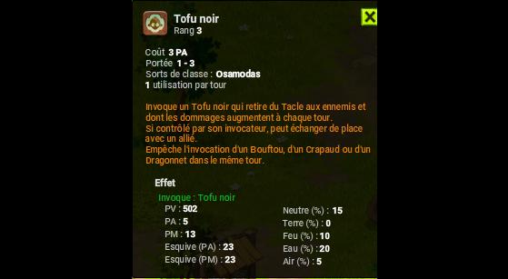 Tofu noir - Dofus