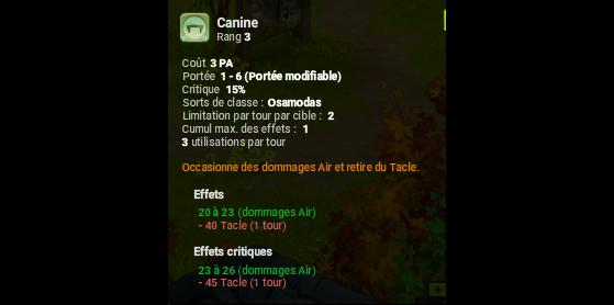 Canine - Dofus