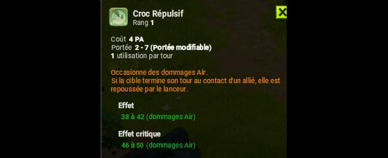 Croc Répulsif - Dofus