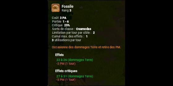 Fossile - Dofus
