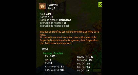 Boufou - Dofus