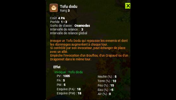 Tofu dodu - Dofus