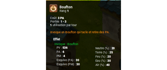 Boufton - Dofus