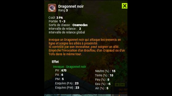 Dragonnet noir - Dofus