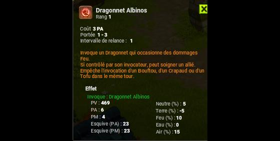 Dragonnet Albinos - Dofus