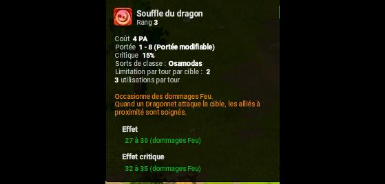 Souffle du dragon - Dofus