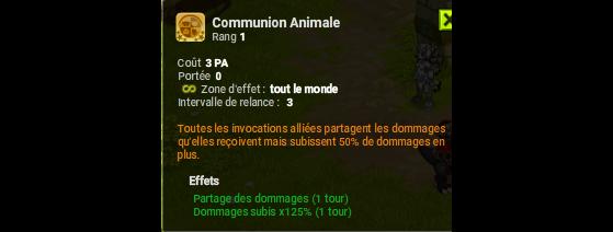 Communion Animale - Dofus