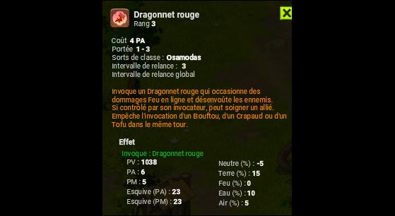 Dragonnet rouge - Dofus