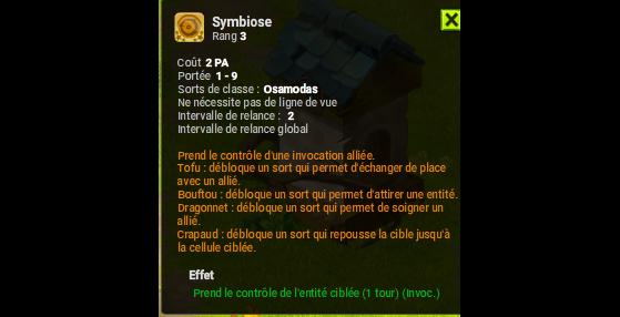 Symbiose - Dofus