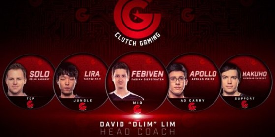 Clutch Gaming dévoile son roster