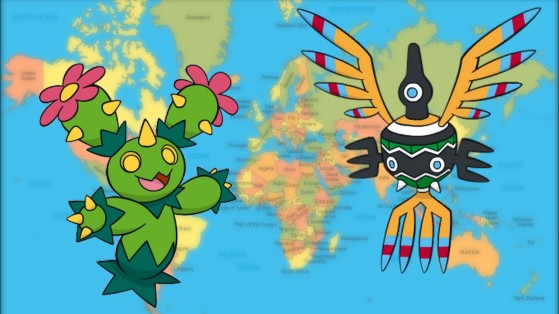 Pokémon GO : Les exclusifs aux régions