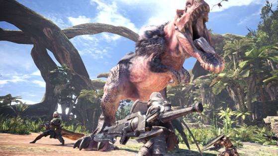 Monster Hunter World : Anjanath