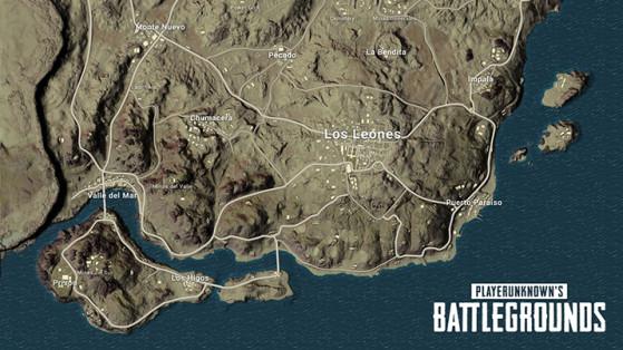 Playerunknown S Battlegrounds Maps Loot Maps Pictures: Miramar : Meilleures Zones De Loot