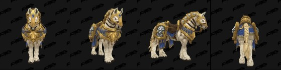 Cheval d'Anduin - World of Warcraft