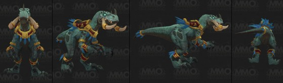 Forme de voyage druides zandalari - World of Warcraft