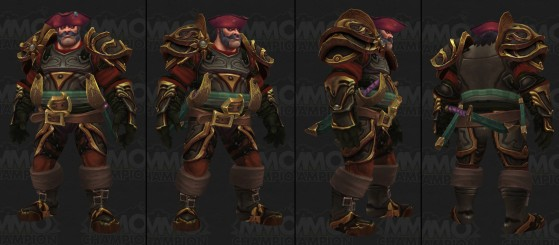 Humain de Kul'tiras - World of Warcraft