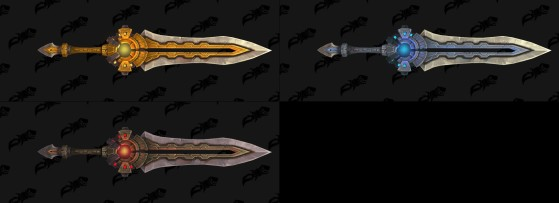 Arme à 2 mains des Nazmir - World of Warcraft
