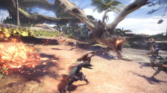 Monster Hunter World : Multijoueur & Fusée d'alerte SOS