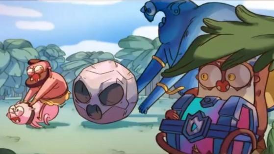 Clash Royale : cartoon et mini-jeu du Hog Rider
