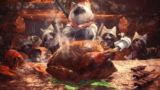 Monster Hunter World : Cantine, Ingrédients, Expéditions