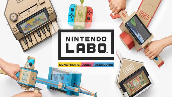 L'Atelier Toy-Con en vidéo — Nintendo Labo