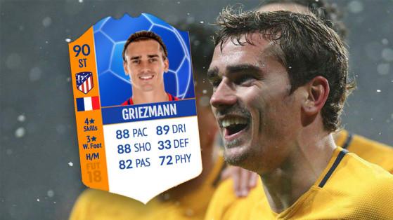 FUT 18 : Nouvelles cartes MOTM, homme du match Griezmann, De Gea...