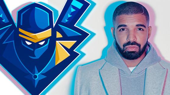 Ninja et Drake sur Fortnite, record Twitch battu