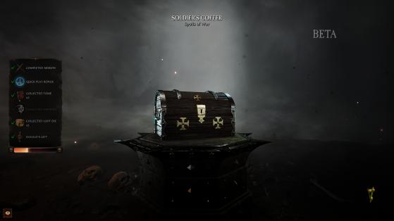 Le niveau des lootbox dépendront des paramètres validés sur la gauche. Le dernier, le cadeau de Ranald, est un bonus totalement aléatoire. - Millenium