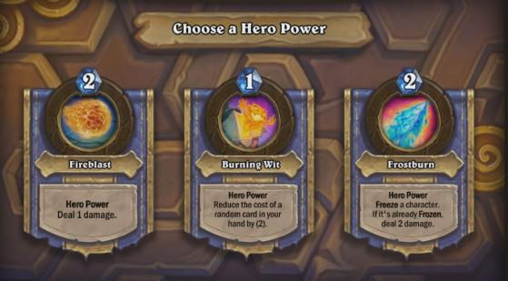 Choix du pouvoir héroïque avec Rakanishu - Hearthstone
