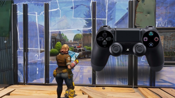 Fortnite : config manette Spécialité construction
