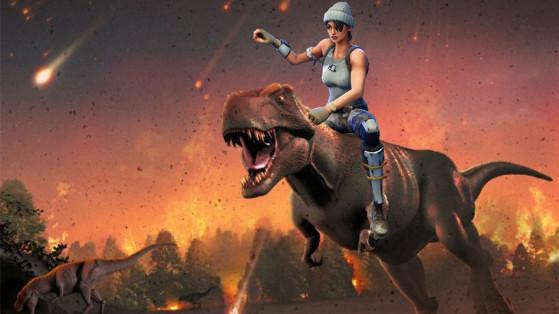 fortnite saison 4 les dinosaures - fin de la saison 4 fortnite date
