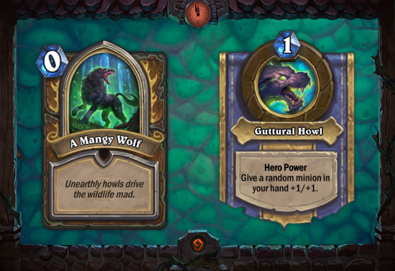 A Mangy Wolf - Hearthstone