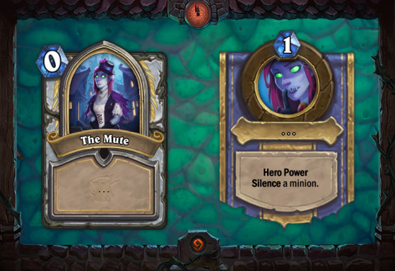 The Mute - Hearthstone