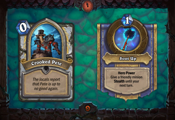 Crooked Pete - Hearthstone