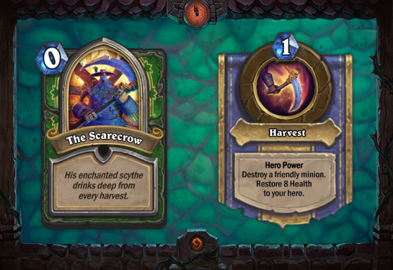 The Scarecrow - Hearthstone
