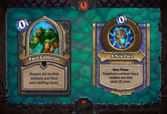 Face Collector - Hearthstone