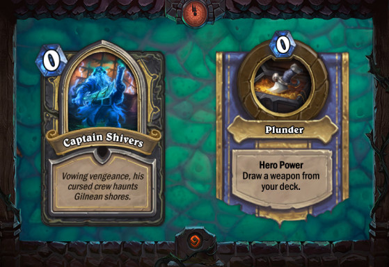 Captain Shivers - Hearthstone