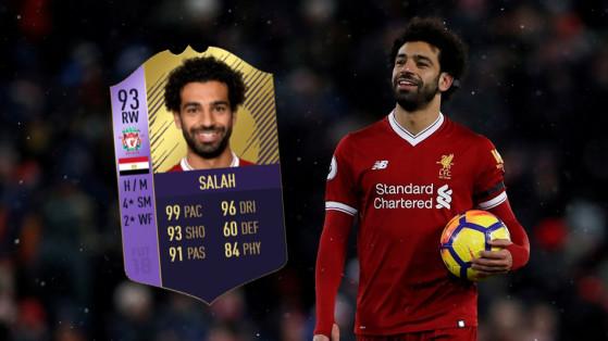 FUT 18 : Mohamed Salah POTM, joueur du mois de mars