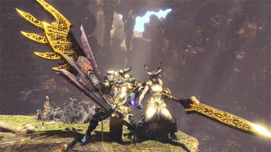 Set d'armure : Kulve Taroth β - Monster Hunter World