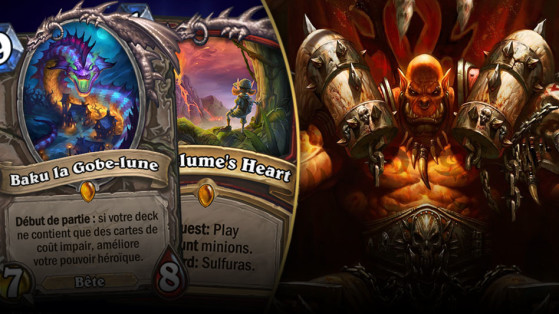 Hearthstone Deck : Guide Guerrier Quête Impair