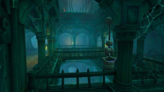 L'étage supérieur des égouts - World of Warcraft