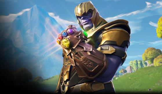Fortnite : Thanos, mode temporaire Gant de l'infini