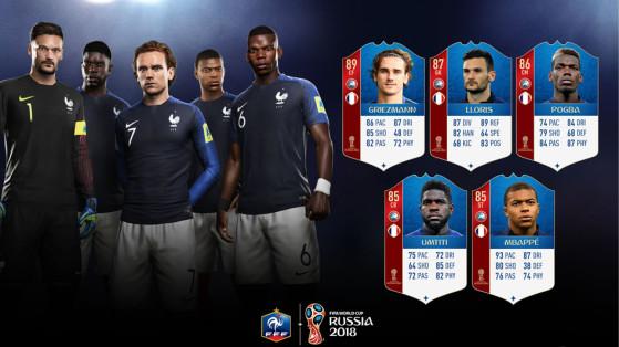 FIFA 18 Coupe du monde : la France