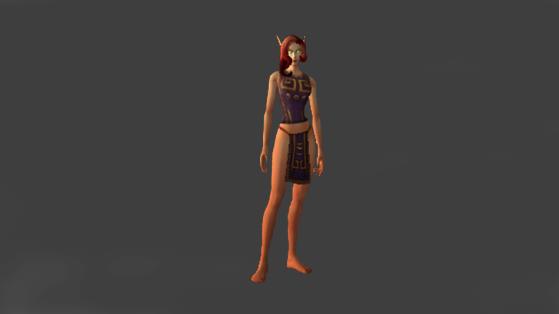 Apparence  du Tabard de l'Empire Zandalari - World of Warcraft