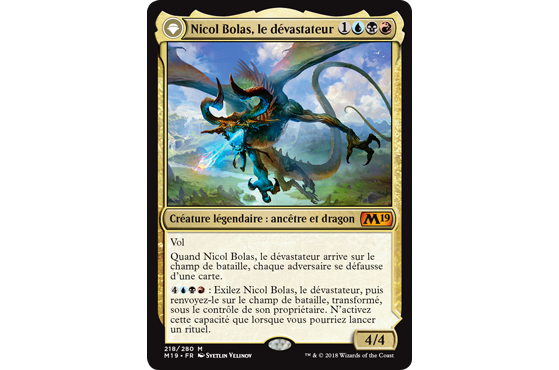 Nichol Bolas version Magic 2019 - Magic Arena